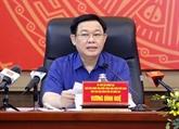 Le président de l'AN rencontre des électeurs de Hai Phong