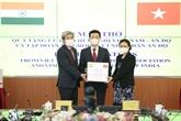 Don de 100 respirateurs du Vietnam au peuple indien