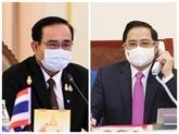 Vietnam - Thaïlande : conversation téléphonique entre les deux Premiers ministres