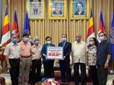 Aide vietnamienne au Cambodge pour lutter contre le COVID-19