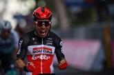 Tour d'Italie : Ewan vainqueur, Landa à terre dans la 5e étape