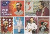 Les insolites tableaux du Président Hô Chi Minh en timbres-poste