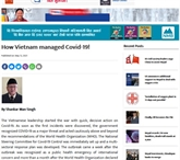 La presse népalaise salue la lutte du Vietnam contre le COVID-19