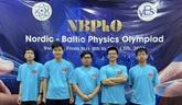 Quatre élèves vietnamiens primés aux Olympiades nordiques-baltiques de physique