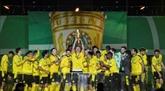 Coupe d'Allemagne : Dortmund écrase le RB Leipzig 4-1 en finale