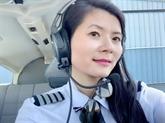 Tour du monde, le rêve d'une pilote Viêt kiêu