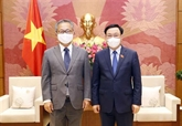 Le président de l'AN reçoit l'ambassadeur japonais