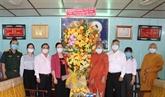 Une délégation du FPV rend visite à des bouddhistes à Cân Tho