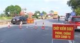 Bac Ninh applique la distanciation sociale dans un district