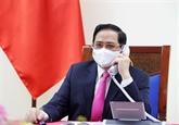 Vietnam - Japon : conversation téléphonique entre les Premiers ministres