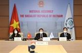 Le Vietnam à une réunion sur les actions parlementaires face au changement climatique