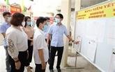 Vuong Dinh Huê préside la Conférence nationale sur les élections législatives