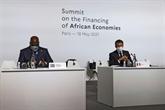 À Paris, des promesses sanitaires pour l'Afrique, pas encore d'engagement financier