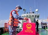 Bac Liêu : Élections anticipées pour les officiers et soldats en mer
