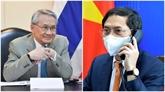 Vietnam et Thaïlande renforcent leur coopération dans différents secteurs