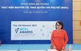 Lancement des Prix des principes d'autonomisation des femmes 2021