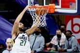 NBA : Utah à nouveau leader à l'Ouest, Dallas prend la 5e place des Lakers