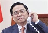 Conversation téléphonique entre les deux Premiers ministres
