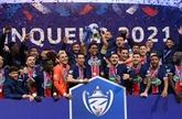 Coupe de France : le Paris SG remporte son trophée porte-bonheur