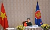 Dialogue des officiels de la Défense du Forum régional de l'ASEAN 2021