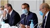 Sondage : popularité de Macron et Castex en hausse