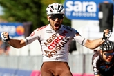 Tour d'Italie : Vendrame gagne en baroudeur la 12e étape