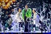 Paillettes et extravagance pour la finale de l'Eurovision