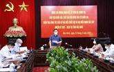 Le président de l'AN inspecte le traval électoral à Bac Ninh et Bac Giang