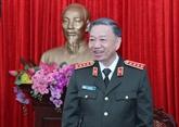COVID-19 : le ministre de la Police apprécie les contributions de la police