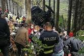 Italie : 14 morts, dont cinq Israéliens, dans la chute d'un téléphérique au bord du lac Majeur