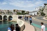 À Marseille, la joie simple et inédite d'un littoral sans voiture