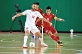 Match nul entre le Vietnam et le Liban lors des éliminatoires