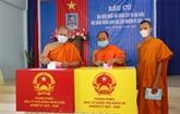 Des médias japonais couvrent des élections au Vietnam