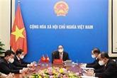 Conversation téléphonique Nguyên Xuân Phuc - Xi Jinping