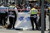 Jérusalem : deux blessés dans une attaque au couteau, l'assaillant palestinien abattu
