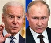 Premier sommet Biden - Poutine le 16 juin à Genève