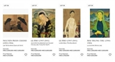 Une œuvre du peintre vietnamien Lê Phô vendue pour plus de 1,1 million de dollars