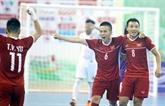 Le Vietnam qualifié pour la phase finale de la Coupe du monde de futsal 2021