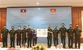 COVID-19 : aide du Commandement de Hanoi pour son homologue de Vientiane