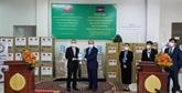 COVID-19 : le Vietnam offre des fournitures médicales au Cambodge