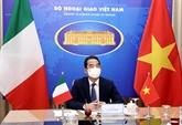 Vietnam - Italie : 3e consultation politique au niveau vice-ministériel des Affaires étrangères