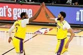 Play-offs NBA : les Lakers calment Phoenix, Brooklyn et Dallas se détachent