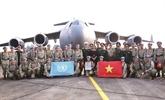 Casques bleus vietnamiens : mission accomplie malgré le COVID-19