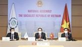 Le Vietnam à la cérémonie d'ouverture de la 142e Assemblée générale de l'Union interparlementaire