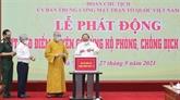 Anti-COVID-19 : Nguyên Xuân Phuc appelle à la force de la nation