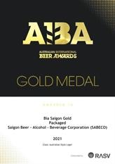 Saigon Beer se distingue aux Australian International Beer Awards 2021
