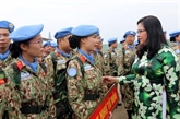 Les forces de maintien de la paix contribuent à la mise en œuvre de la politique étrangère du Parti