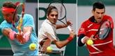Roland-Garros : Nadal, Djokovic et Federer dans le même bateau