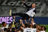 Espagne : Zidane et le Real Madrid, l'histoire s'interrompt