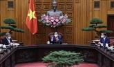 Le PM Pham Minh Chinh reçoit le président de la COP 26